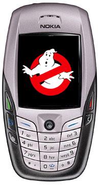 szellemirtó mobiltelefon