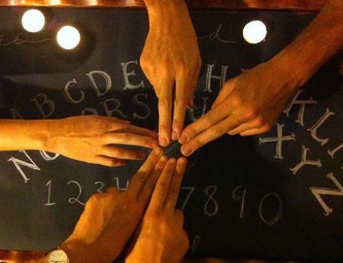 A Ouija-tábla használata