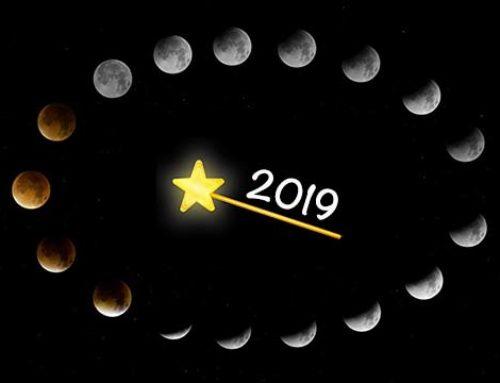 Újhold és telihold 2019-ben