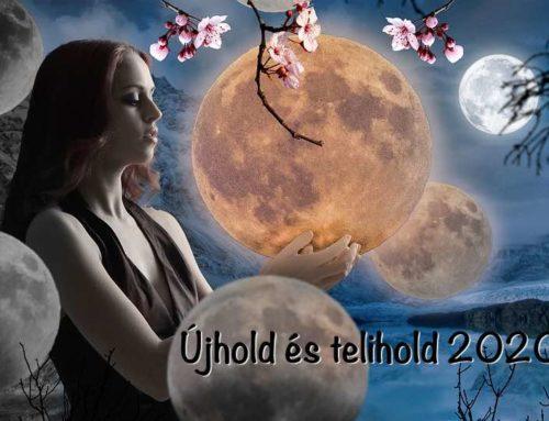Telihold és újhold 2020-ban